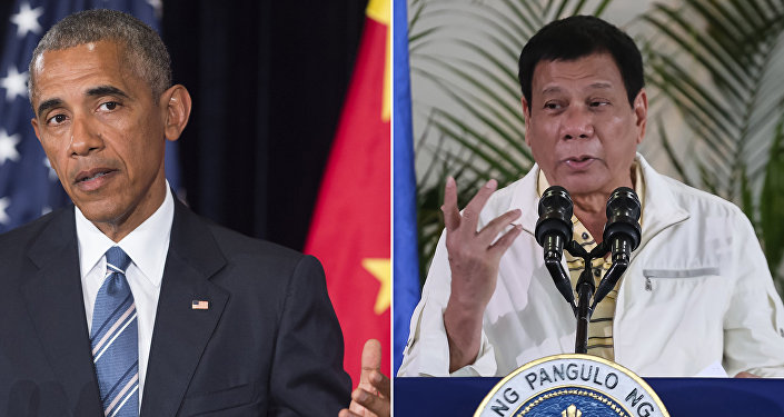 Barack Obama, Rodrigo Duterte