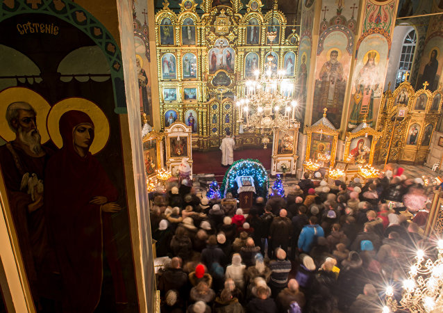 Russia celebrates Orthodox Christmas