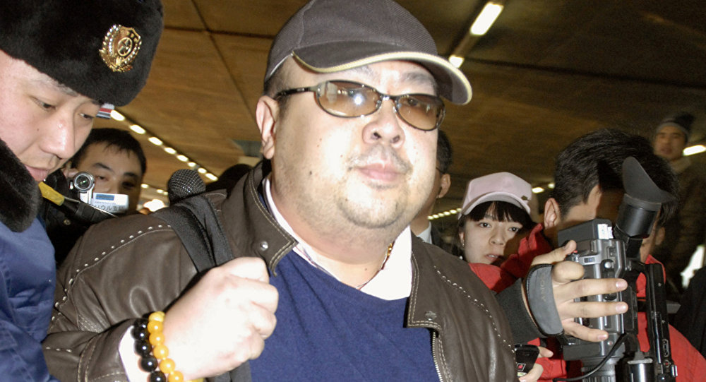 Kim Jong Nam arrives at Beijing airport in Beijing, China, in this photo taken by Kyodo February 11, 2007. Picture taken February 11, 2007