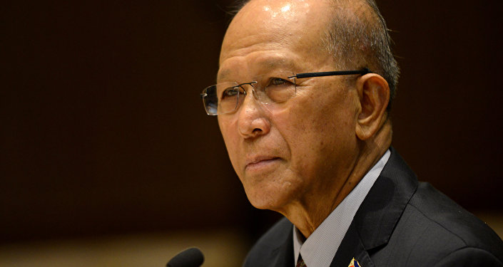 Philippine Defence Secretary Delfin Lorenzana (File)