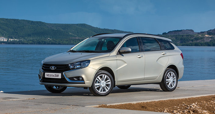 The new Lada Vesta SW wagon by AvtoVAZ