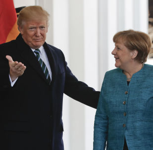 Donald Trump và Angela Merkel