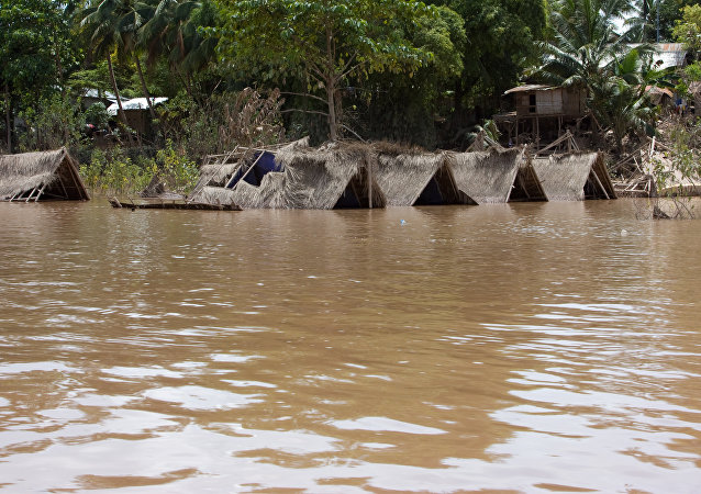 Flooding in Laos (File)