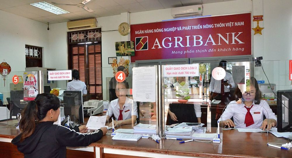 Phòng giao dịch Agribank