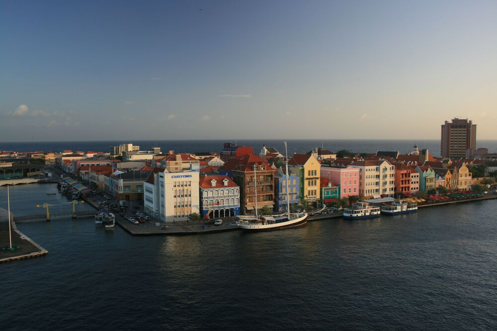 Quang cảnh Willemstad ở Curacao
