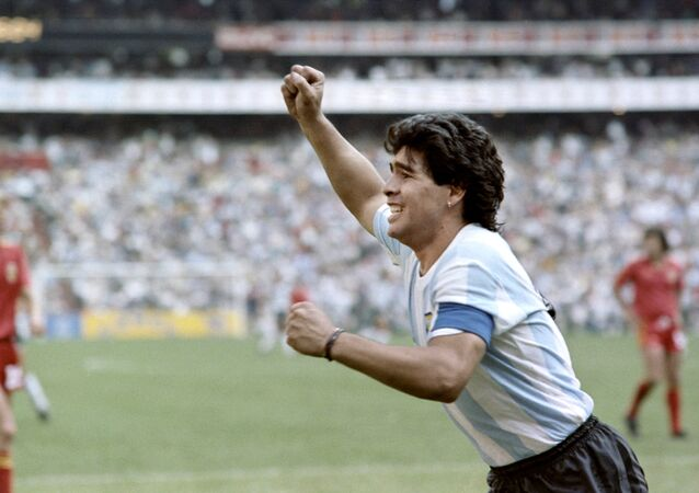 Diego Maradona. World Cup 1986, Mexico