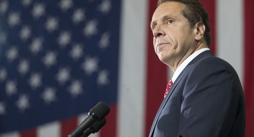 Thống đốc New York Andrew Cuomo.