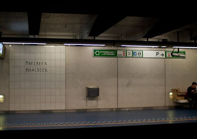 Maelbeek metro station (File)