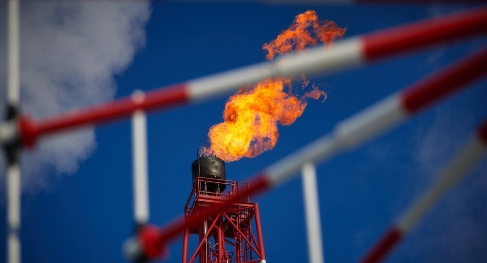A view of the gas torch. (File)