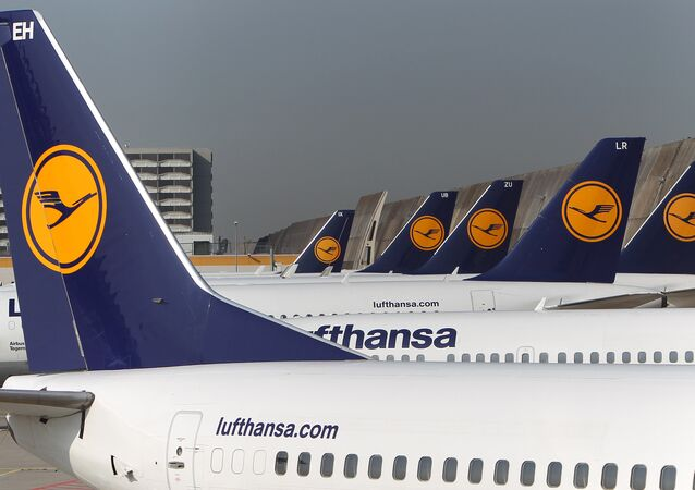 FILES - Aircrafts of German airline Lufthansa stand in park position at the airport in Frankfurt am Main, western Germany.