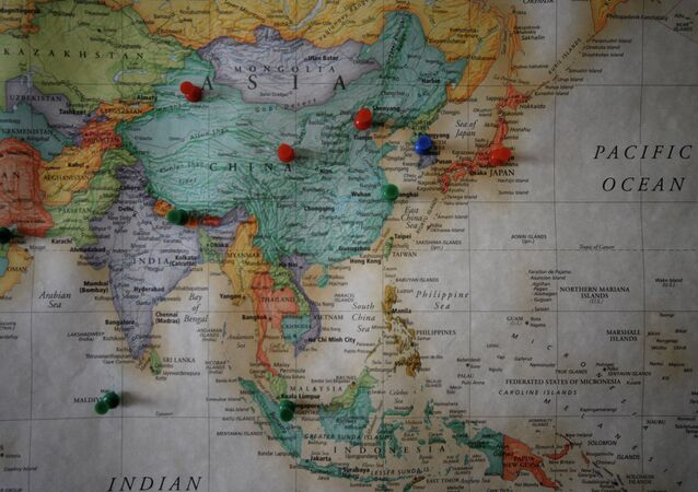 Travel Map : Asia