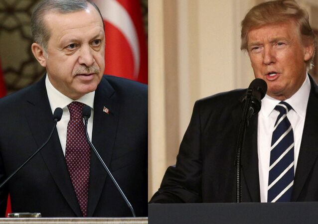 Turkish President Erdogan and US President Trump