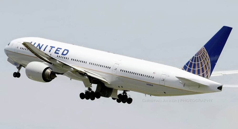 United Airlines sues over unfair competition.
