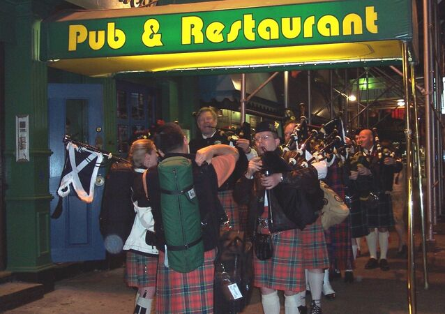 Scottish  pub