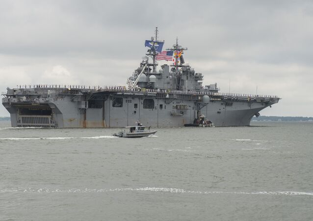 USS Wasp departs Naval Station Norfolk