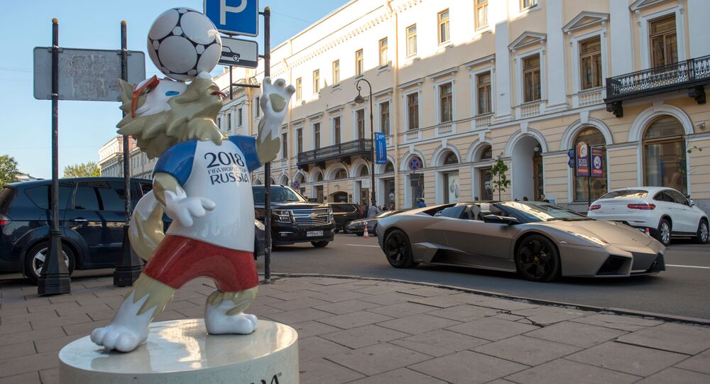 World Cup 2018 tại St. Petersburg