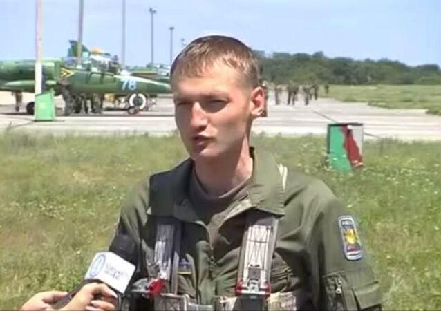 SU-25 pilot Capt. Vladislav Voloshin allegedly involved in the downing of a Malaysian passenger plane
