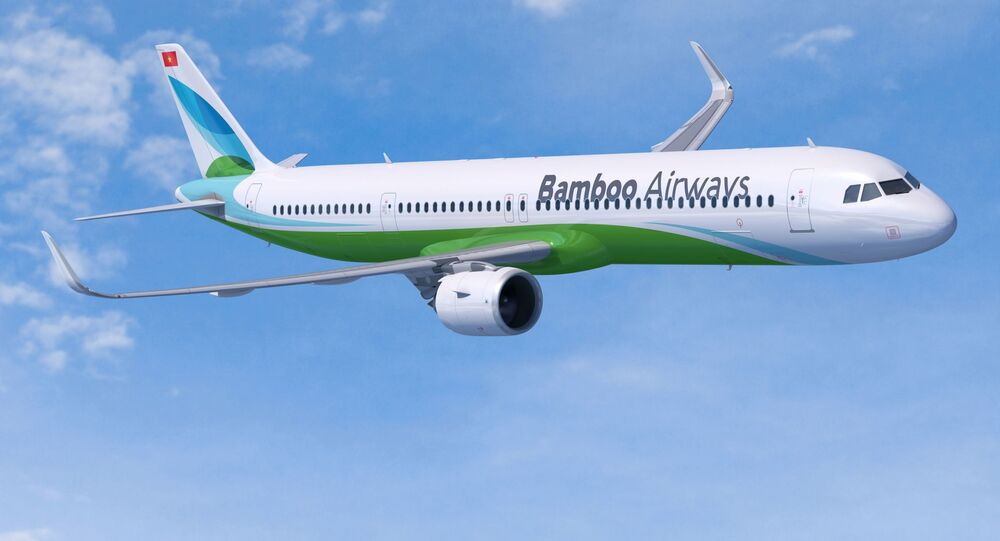 Máy bay Bamboo Airways A321neo