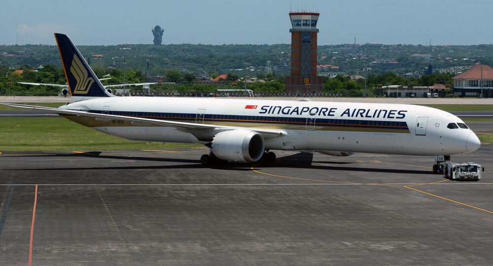 Boeing 787-10 Dreamliner của Singapore Airlines